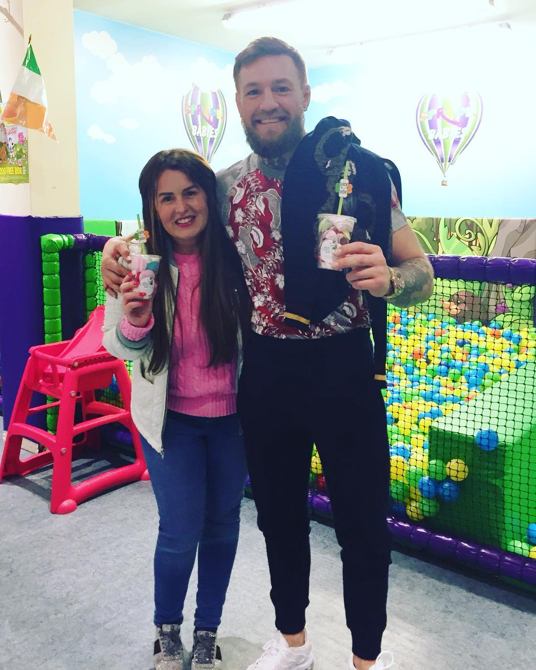Conor McGregor treat Boutique Dublin
